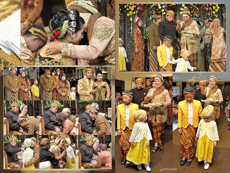 Sedikit cerita tentang Pernikahan Adat Jawa ^^ .  Phone & WhatsApp: 0857 0111 1819 . #FOLLOW Twitter, LINE, Instagram: @fotoceria . PIN BB: 7 d 1 1 8 b 8 a . Facebook: Foto Ceria . Website: www.fotoceria.com  . follow #twitter #line #instagram #fotoceria  #couple #wedding #pernikahan #perkawinan #menikah #pengantin  #fotografer #weddingphotographer #Yogyakarta #Jogja #Boyolali #love #happy #smile #ceria #kolaseeditalbum #kolase #album #upacaraadat #AdatJawa #CeriaLovers #SharePict