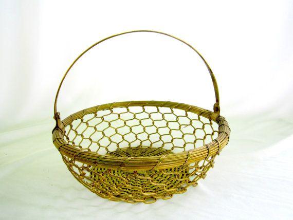 Best 25+ Metal Baskets Ideas On Pinterest