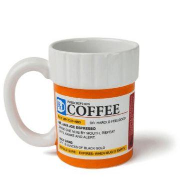 The Prescription Coffee Mug #Funny