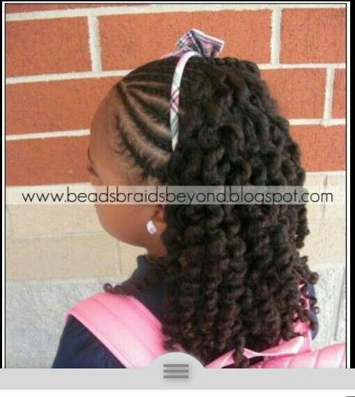 Pin By Dee W On Black Kids Hairstyles Pinterest Hair