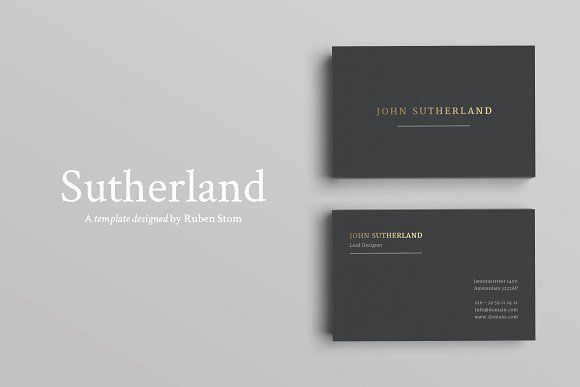 Product Description Professional Business Card Template - product description template
