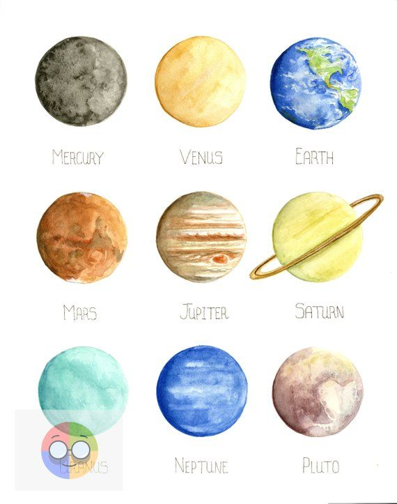 10 Outer Space Solar System Hanging Decoration Swirls Planet Sun School Event