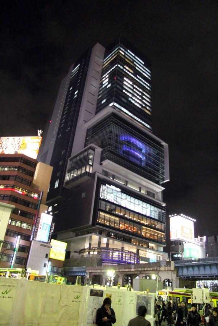 Shibuya-Hikarie  Architect: Shigeru Yoshino, Nikken Sekkei and Tokyu Architects and Tngineering, Inc. JV, Japan  Location: Shibuya, Tokyo, Japan  Year built: 2012