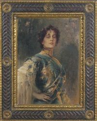 A portrait of Lola Montez by Conrad Kiesel