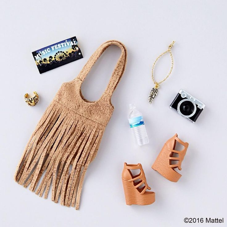 When it comes to festival fashion, it's all in the details! All these accessories are included in #TheBarbieLook Collection, shopping link in bio!  #barbie #barbiestyle