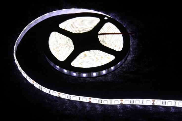 Strip Lighting LED White SMD5050 IP65 5M Roll 14.4w/m 60 LEDs/m A$32.45 www.ecoindustrialsupplies.com