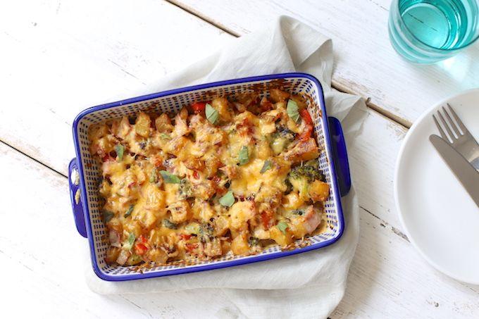 Aardappelovenschotel met broccoli en ham   Lekker en simpel   Bloglovin'