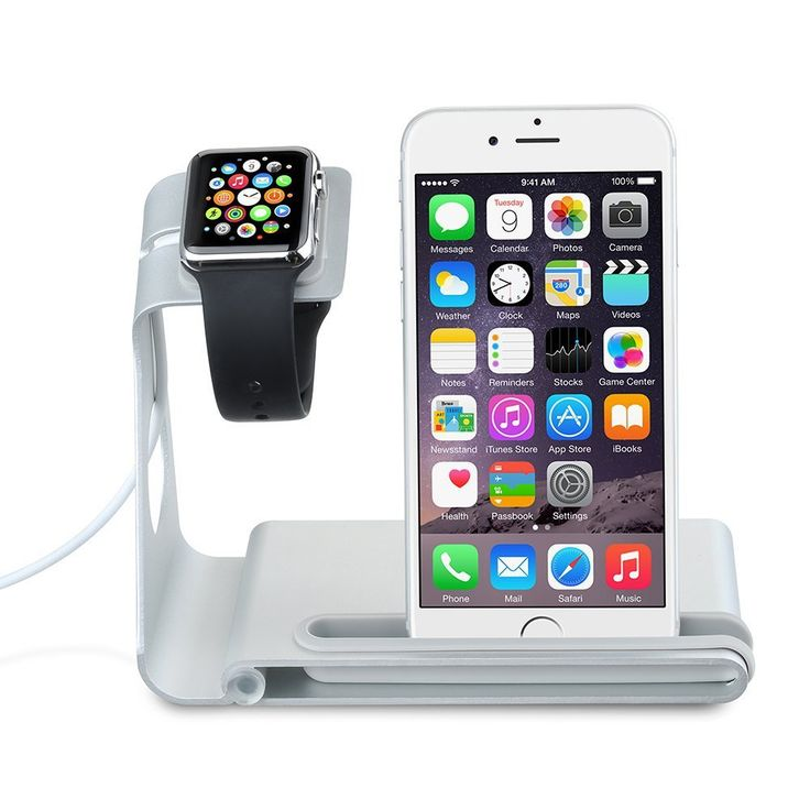 VTin Aluminum Alloy Charging Dock Stand Docking Station Holder Cradle for Apple Watch, iPhone, iPad