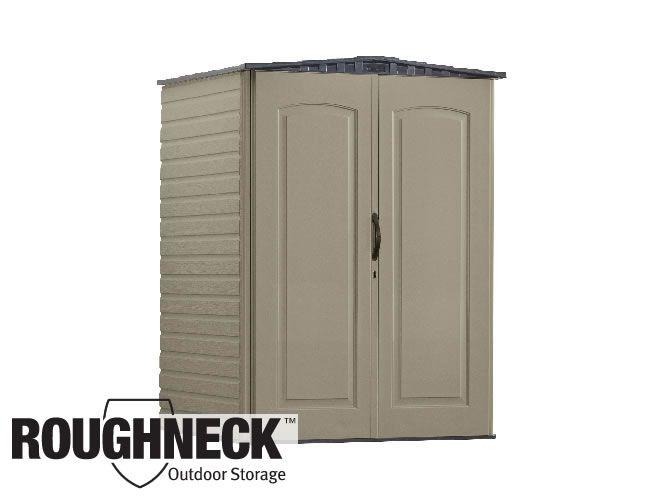 Rubbermaid Roughneck Outdoor Storage Building Is Durable