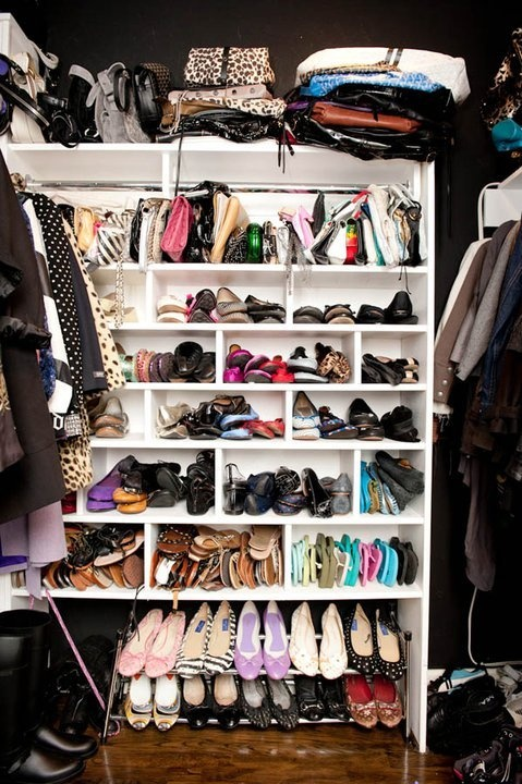 closets shoes