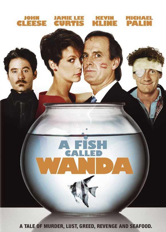 """A Fish Called Wanda (1988) - """"It's K-K-K-Ken! C-c-c-coming to k-k-k-kill me! How you gonna c-c-c-catch me, K-K-K-Ken?"""""""