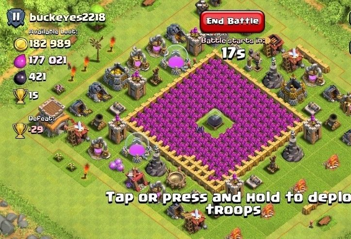 clash of clans base layout for th8