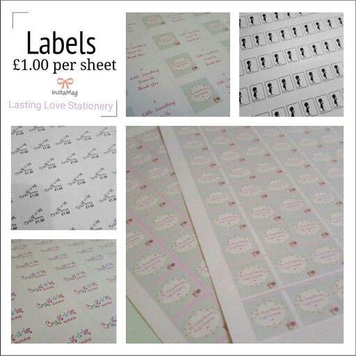 Sticker logo Labels
