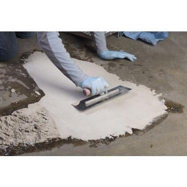 Troweling Concrex® Concrete Epoxy Repair