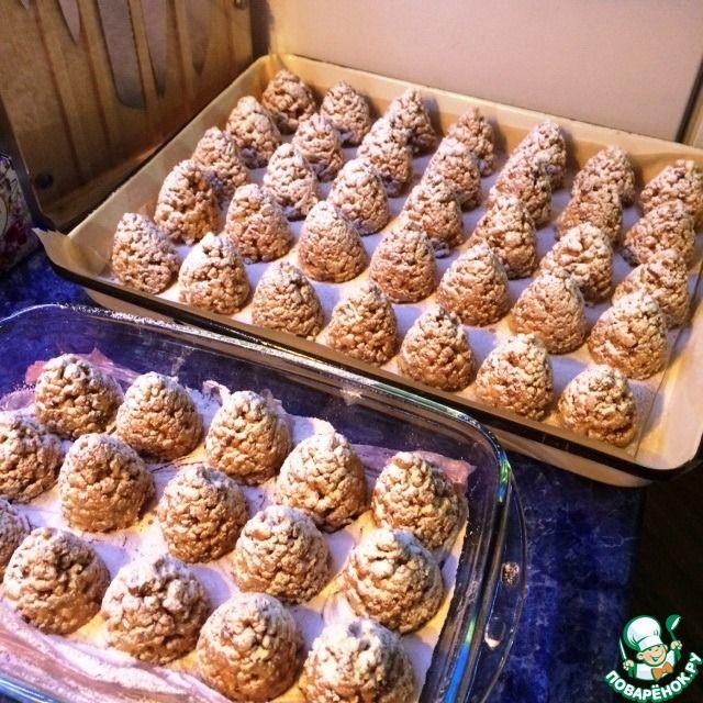 """Новогоднее печенье """"Шишки"""" ингредиенты"""