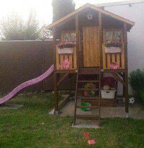 stelzenhaus tobi kindergartenhaus spielplatz pinterest. Black Bedroom Furniture Sets. Home Design Ideas