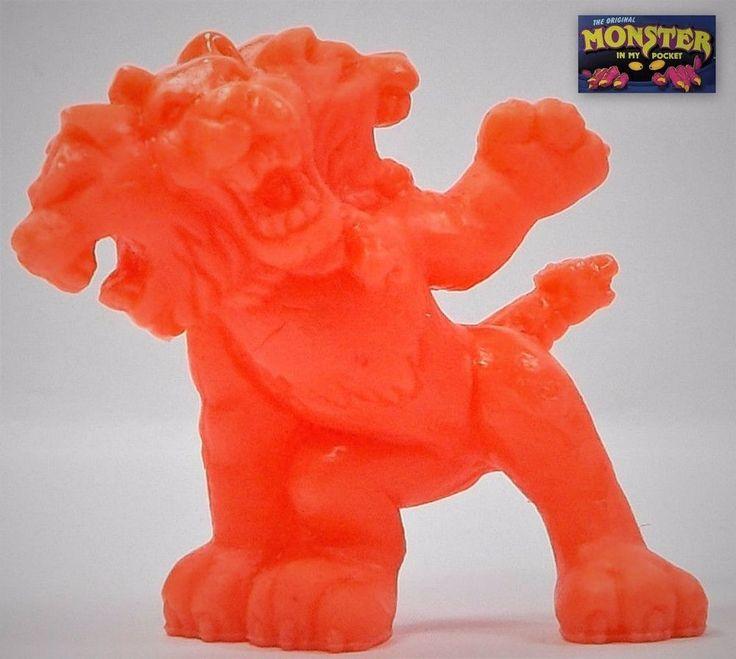 Monster In My Pocket - Series 1 - 28 Cerberus - Neon Red NR MEG