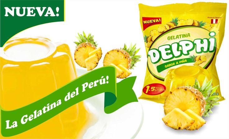 #LaGelatinadelPeru #ProductosDelphi #Postresenpolvo #Gelatinapiña Productos Delphi - La Gelatina del Perú, disfrútala en sabor piña.  Pedidos, teléfonos fijo 576-4892 móvil 999-090-503 ventas@productosdelphi.com  @ProductosDelphi Ventas a nivel nacional - Producto Peruano Distribución y pedidos a nivel nacional - Producto Peruano https://www.google.com/maps/d/viewer?mid=1pB6qWYrZQ6_BKwS9VWNb2hBeCyE&ll=-12.09675064245161%2C-76.9579195&z=11