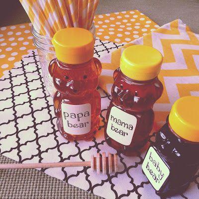 October 2012    Honey Bear Baby Shower