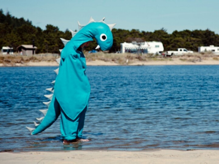 Lockness Monster Costume- too funny! | Fancy dress ideas ...