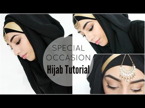 ▶ HIJAB TUTORIAL | Special Occasion Hijab style - YouTube