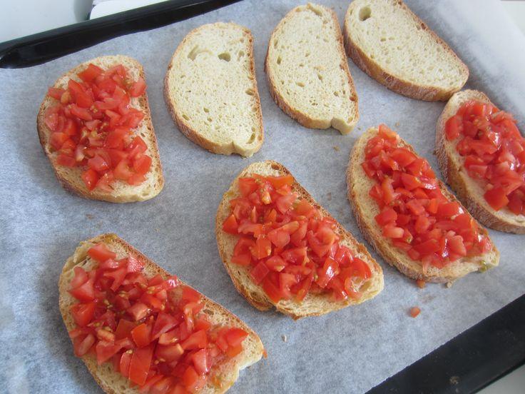 Featured Recipe by Vidya: Bruschetta! - http://easyitaliancuisine.com/bruschetta-an-italian-super-classic-dish-as-featured-recipe-by-vidya-hosted-chef/