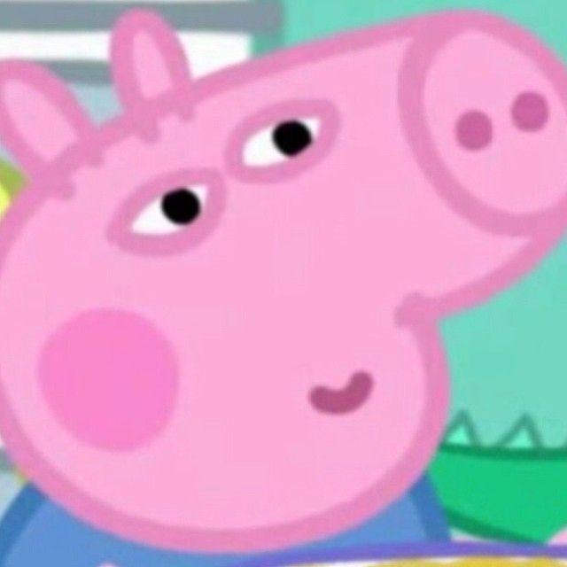 Pin By Heather Owens On Rostos De Meme Desenho Peppa Pig Memes Peppa Pig Funny Pig Memes