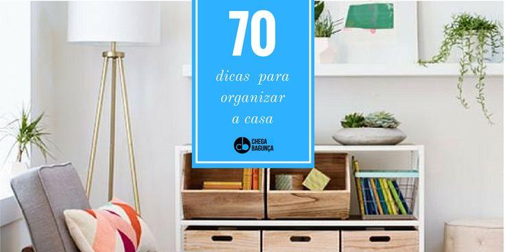 70 dicas para organizar tudo :http://blogchegadebagunca.com.br/70-dicas-para-organizar-tudo/