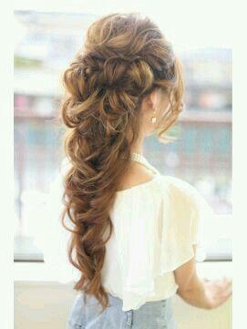 peinado hermoso