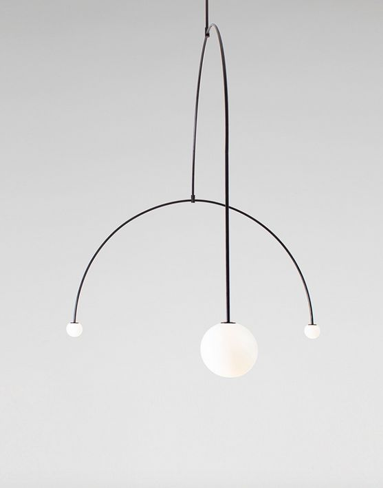 minimal + globe bulbs + lighting