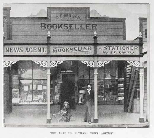 The leading Eltham news agency - Auckland Libraries