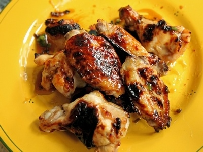 Coca-Cola Glazed Chicken Wings from Virginia Willis {Video Recipe}