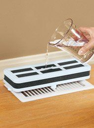 Simply Add Water To The Foam Core And Place Over A Floor Vent Or Near A  Baseboard Vent, Heater Or Radiator.