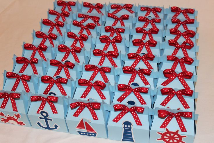 Nautical+Party+or+Baby+Shower+Favor+Boxes+by+TamaraMarieOriginals,+$24.00