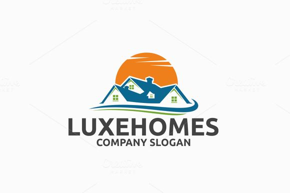 Luxe Homes Logo by @Graphicsauthor