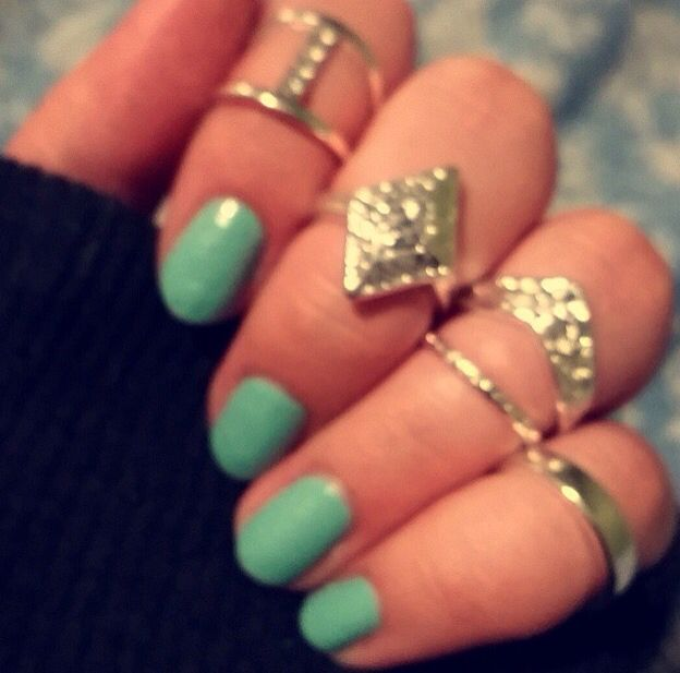 Silver mid rings, my new obsession