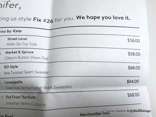 Stitch fix- send me everything in this box!!! :)  Disclosure: This post contains affiliate links. Stitch Fix Cost: $20 Styling Fee + Cost of Items Kept ($20 fee will be applied as a credit toward anything you keep from your shipment.) Ships To: Un...