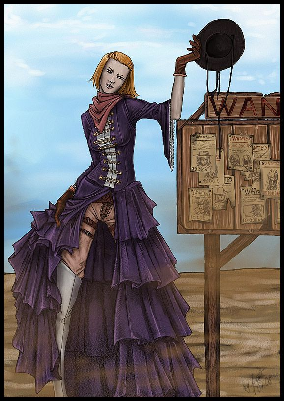 Image result for saloon wench art