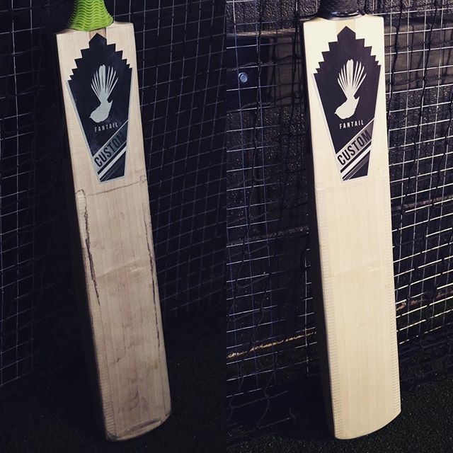 Another #refurbishment #complete in the #fantailcricket #workshop