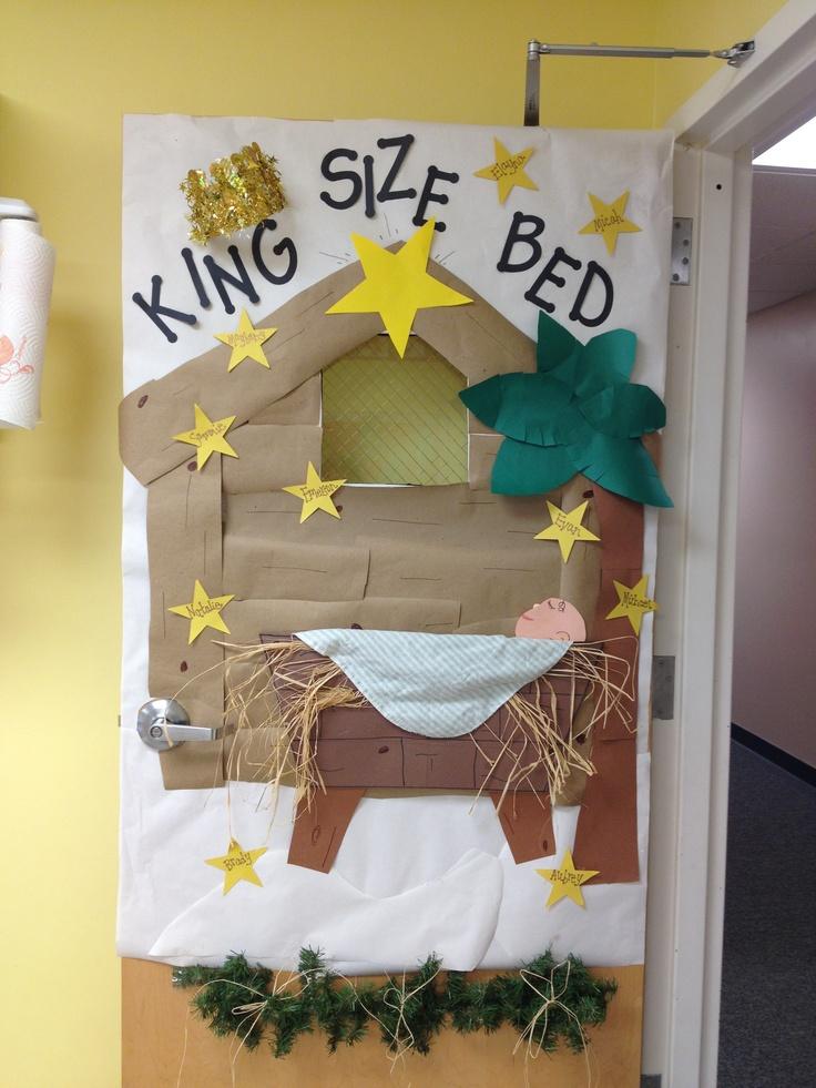 Christmas Door Decorations For Preschool