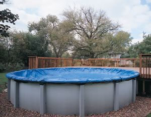 Pinterest the world s catalog of ideas for Above ground pool winter cover ideas