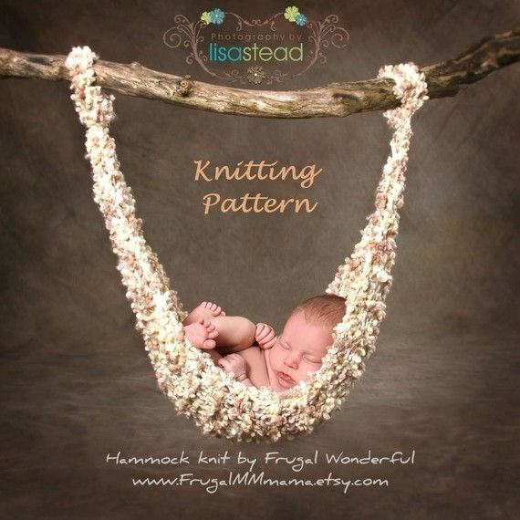 Baby hammockNewborns Baby, Free Pattern, Knitting Patterns, Photo Props, Newborns Photos Props, Newborn Photos, Knits Pattern, Baby Hammocks, Baby Photos