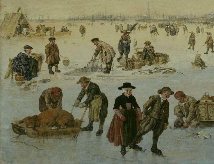17 Best Images About Art Dutch Golden Age Painting 1615: 17 Best Images About IJsgezichten/ Schaatsers (Lex) On