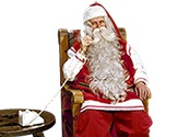 Great Website where you can send a personal video from Santa Claus to your child. Can upload a video tell them if they are on the good list / naughty list etc. My kids love it. :)