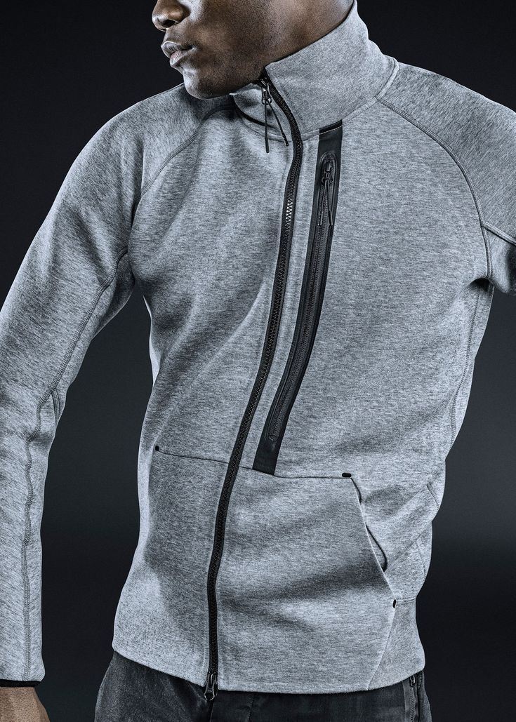 """""""The latest high-tech fabric strips away unnecessary weight by trapping the athlete's body heat with a trilayer fabric—two sheets of micro-thin cotton with a plush foam center in the middle. That feather-light foam quickly insulates and enables performance."""""""