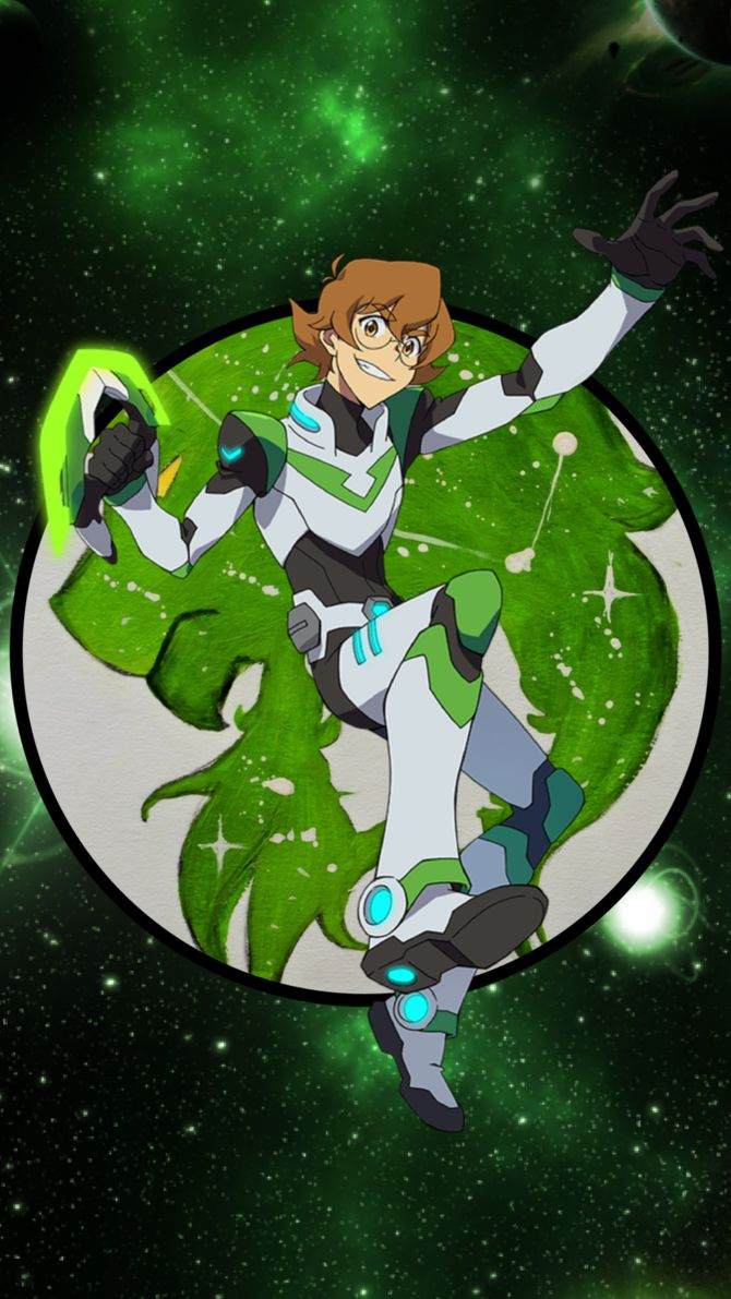 Pidge the Green Paladin of the Green Lion of Voltron from Voltron Legendary Defender