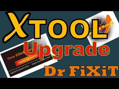 How to Xtool Upgrade VAG 401 Dr FiXiT- USA