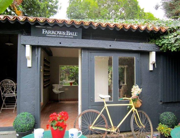 Maison Brisset Showroom Pinturas Exterior Farrow Ball En La Fundaci N Sales Fachada En