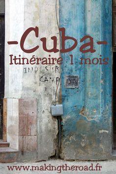 La Havana centre historique - Voyage à #Cuba 1 mois d'ouest en est. Itinéraire et conseils bons plans avec des hôtels plages et des randonnées