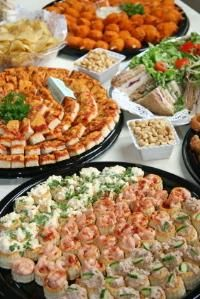 ADD PIZZA! :) Self-Catering Your Wedding Reception